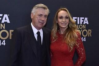 Ancelotti al Napoli: chi è Mariann Barrena McClay, la seconda moglie del mister campione