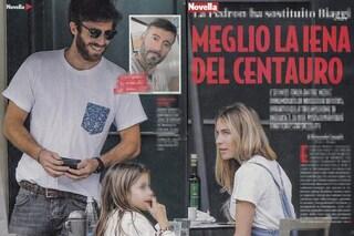 Eleonora Pedron con Nicolò De Devitiis (che avrebbe già conquistato anche i figli di Max Biaggi)