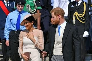 Harry e Meghan Markle alla prima uscita ufficiale per il compleanno del principe Carlo