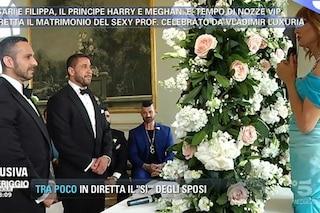 Ruggero Freddi e Gustavo si sposano, officia le nozze Vladimir Luxuria