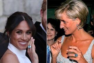 """Meghan Markle, l'anello è quello di Lady D: """"È un regalo di Harry per lei"""""""