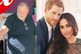 """Il padre di Meghan Markle non sarà al Royal Wedding, dopo lo scandalo foto: """"Ho avuto un infarto"""""""
