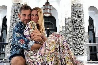 Per Daniele Bossari e Filippa Lagerback viaggio di nozze in Marocco, lei risponde alle critiche