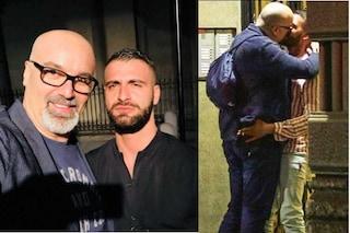 Giovanni Ciacci e i baci appassionati con Damiano Allotta, lui è l'ex di Stefano Gabbana