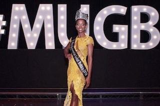 Dee-Ann Kentish-Rogers è la prima donna di colore diventata Miss Universo Gran Bretagna