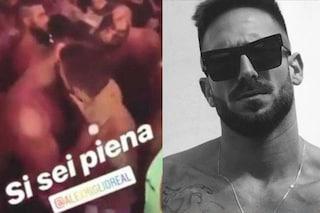 """Alex Migliorini bacia l'ex di Alessandro D'Amico, che s'infuria: """"Da topino a zocc**a"""""""