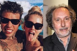 """Fulvio Abbate contro Chiara Ferragni: """"Mi fa orrore"""". La replica di Fedez"""