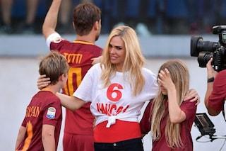 """Ilary Blasi: """"Preoccupata per mio figlio Christian, i tifosi sognano un altro Totti in campo"""""""