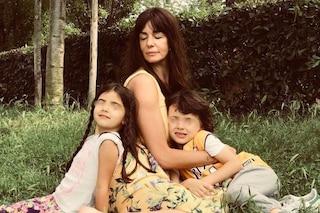 """Alessia Fabiani: """"Non voglio baby sitter, i miei figli Kim e Keira li cresco e proteggo io"""""""