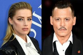 """""""Johnny Depp accusa Amber Heard di averlo preso a pugni in faccia"""": l'attrice interviene per difendersi"""