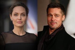 Scontri in tribunale tra Angelina Jolie e Brad Pitt, ma la legge appoggia il divo americano