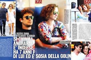 La 46enne Angharad Wood è la nuova compagna di Riccardo Scamarcio (e assomiglia a Valeria Golino)