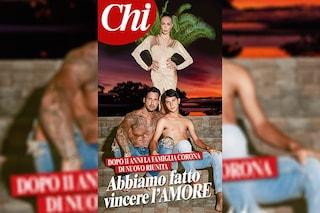 """Fabrizio Corona e Nina Moric di nuovo insieme con Carlos: """"Abbiamo fatto vincere l'amore"""""""