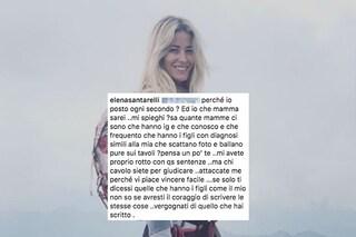 """Elena Santarelli insultata sui social reagisce: """"Vergognatevi, avete rotto con le vostre sentenze"""""""