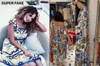 """Stefano Gabbana a Sara Affi Fella: """"Un fake"""", si riferisce a un abito che sarebbe stato copiato"""