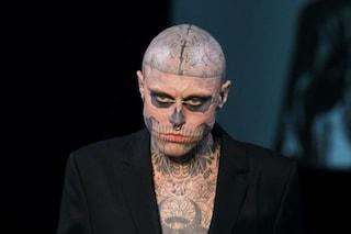 """È morto a 32 anni """"Zombie Boy"""": Rick Genest, che divenne famoso con Lady Gaga, si è suicidato"""