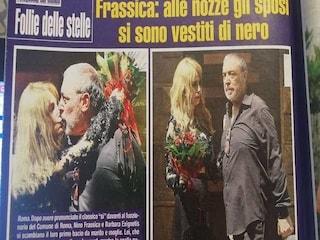 """Nino Frassica ha sposato Barbara Exignotis: """"Nozze intime, la festa vera sarà a settembre"""""""