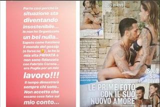 """""""Non sono fidanzata con Fabrizio Corona"""", ma le foto sembrano smentire Zoe Cristofoli"""