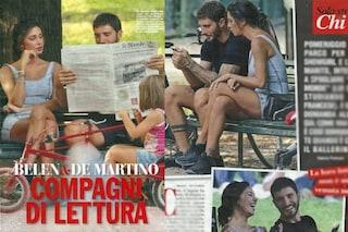 Belén Rodriguez e Stefano De Martino insieme al parco, risate e complicità sono quelle di un tempo