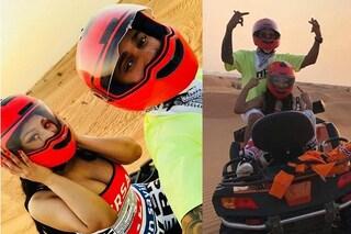 È amore tra Nicki Minaj e Lewis Hamilton: a Dubai la coppia avrebbe rischiato l'arresto