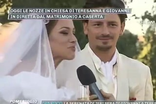 Teresanna Pugliese ha sposato Giovanni Gentile, il matrimonio in diretta a 'Pomeriggio 5'