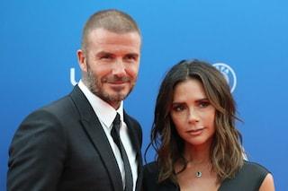 """David e Victoria Beckham hanno contratto il Coronavirus: """"Preso a una festa e tenuto segreto"""""""