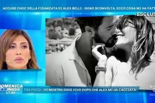 """Mila Suarez: """"Alex Belli mi ha violentata psicologicamente. Le botte? Non ci sono mai state"""""""