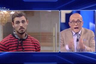 """Francesco Monte furioso con Alfonso Signorini: """"Distorcete la realtà, tagliate a piacimento"""""""