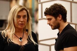 """Lory Del Santo si scontra con Elia Fongaro: """"Non mi lasci parlare, vuoi chiudere la bocca?"""""""