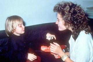 """Lory Del Santo visse già l'isolamento dopo la morte di Conor Clapton, nel 1991: """"Lasciatemi sola"""""""
