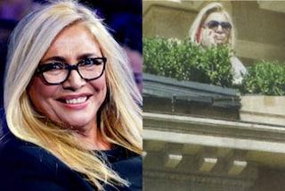 Nuova casa per Mara Venier, la conduttrice di Domenica In visita un super attico nel centro di Roma