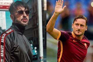 """Fabrizio Corona fa marcia indietro su Francesco Totti: """"Rispetto te e i tuoi figli"""""""