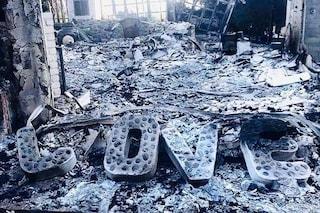 """Distrutta la villa a Malibu di Hemsworth e Miley Cyrus, Liam: """"Straziante, questo è ciò che rimane"""""""