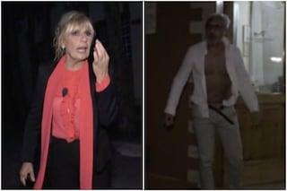"""Scontro tra Rocco Fredella e Gemma Galgani, lui tenta di spogliarsi: """"Rivestiti, fai schifo"""""""