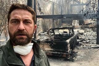 """L'incendio in California devasta la casa di Gerard Butler: """"Momento straziante"""""""