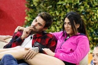 """Monte sbraita contro Giulia Salemi: """"Faccia da c***, Francesco Monte non lo tratti così!"""""""