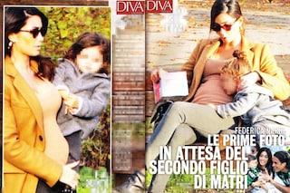 Sofia bacia il pancino di mamma Federica Nargi, l'ex velina non ha ancora confermato gravidanza