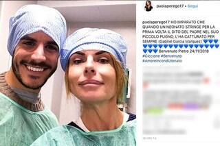 Paola Perego è diventata nonna: è nato Pietro, figlio di Giulia Carnevale e Filippo Giovannelli