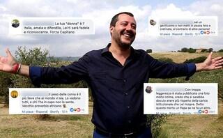 """""""Capitano, la tua donna è l'Italia"""", le reazioni dei fan al Matteo Salvini lasciato da Elisa Isoardi"""