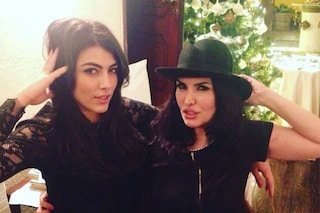 """Smentita la lite con Fariba Tehrani, la figlia Giulia Salemi: """"Ci siamo viste e sentite"""""""