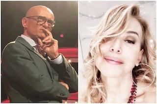 """Alfonso Signorini contro Barbara D'Urso: """"Non mi piace, ammicca, finge stupore e lacrime"""""""