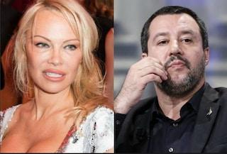 """Pamela Anderson: """"Preoccupata per l'Italia di oggi, mi ricorda quella degli anni '30"""""""