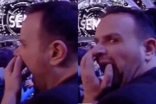 Sbadiglia durante la diretta del 'GF Vip 2018' e il video diventa virale: chi è Antonello Lauretti