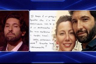 """GF Vip 2018, Céline Mambour scrive a Walter Nudo: """"Quanto ti amo, quello che c'è tra noi è unico"""""""
