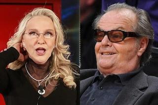 """Eleonora Giorgi: """"Jack Nicholson ci ha provato con me, voleva portarmi a letto"""""""