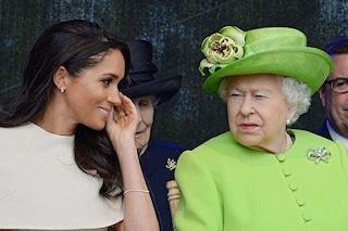Meghan Markle rompe il protocollo, la foto che ha fatto infuriare la regina ed è sparita dal web