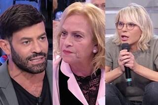 """Angela Di Iorio furiosa: """"Gianni Sperti non capisci un caz**, Maria De Filippi fai domande stupide"""""""