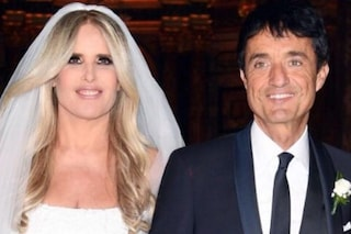 Giulio Base e Tiziana Rocca di nuovo sposi, cerimonia religiosa dopo il rito civile del 2001