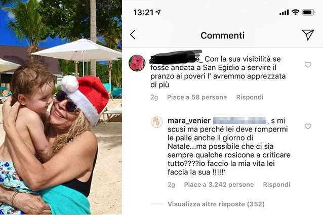 Mara Venier sbotta a Natale: