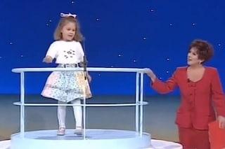 La rivelazione di Martina Sebastiani: fece Non è la Rai da bambina, ecco il video